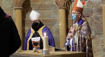 Celebración del 950 aniversario del inicio del Rito Romano en el Monasterio de San Juan de La Peña