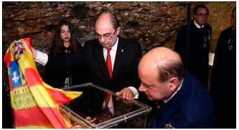 Los reyes de Aragón regresan a San Juan de la Peña después de 30 años